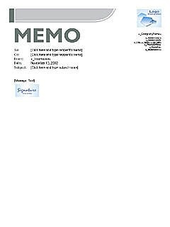 Blade Memo – Word Template – Microsoft Word Templates