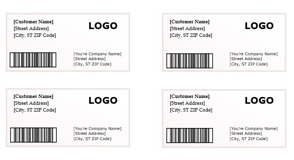 Shipping Label Template Microsoft Word Templates – Shipping Label Template Free