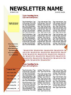 free newsletter templates microsoft word templates