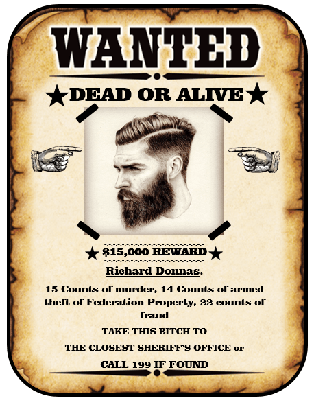 wanted poster design 1