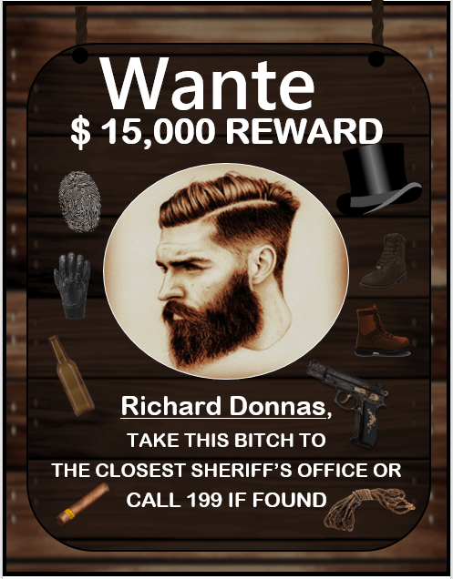 Wanted Poster Template 3