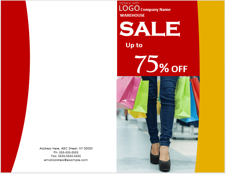 Sale Brochure Template 2