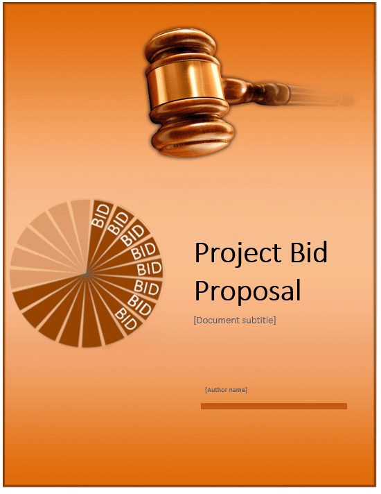 Project Bid proposal template 02
