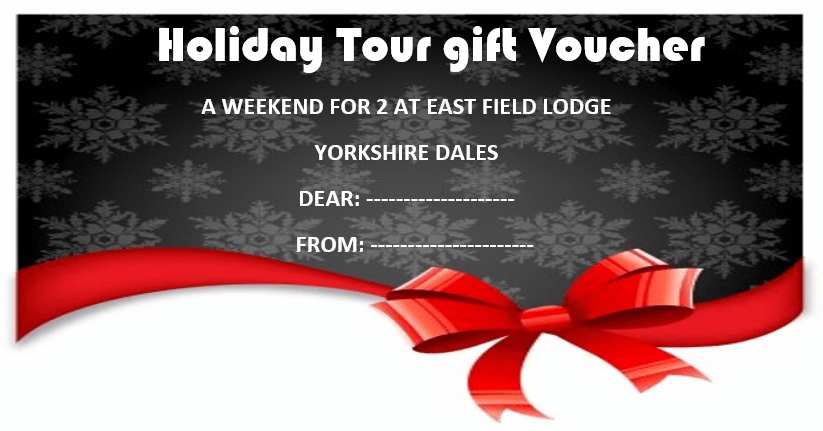 Holiday Tour Gift Voucher Template 2