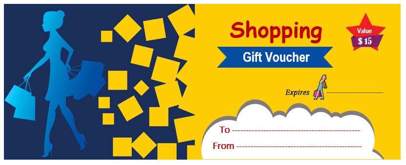 Shopping Gift Voucher 3
