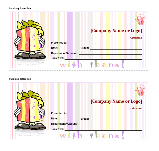 Free microsoft gift certificate templates