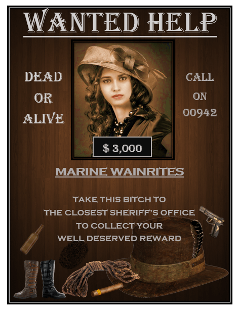 Wanted Poster Template 6  Free Printable Wanted Poster