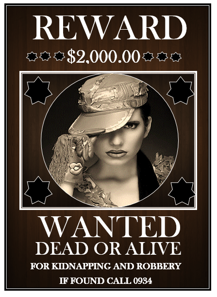 Colorful Wanted Poster Template 9