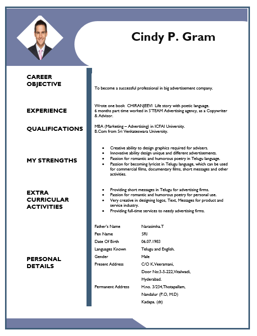 Creative Resume Template 02