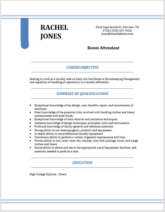 Modern Resume Template 09
