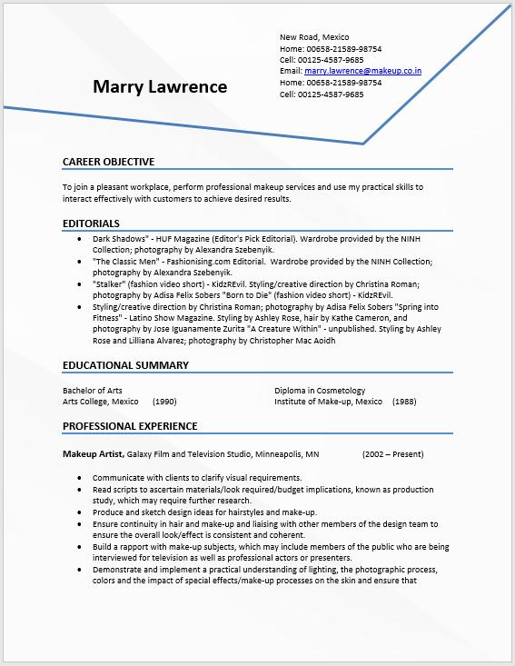 Modern Resume Template 11