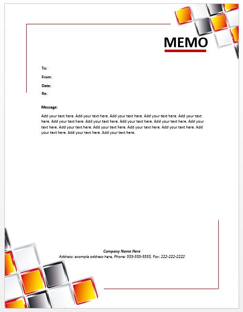 18 free memo templates  u0026 format guidelines  u2013 word