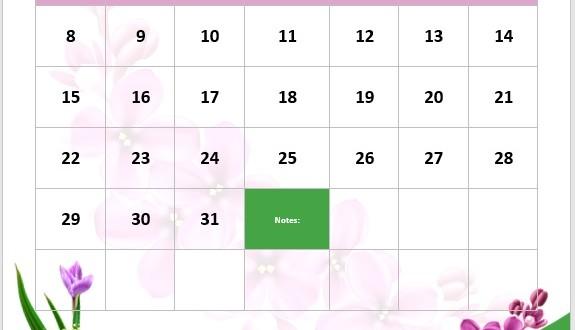 portrait teal calendar  u2013 word templates  u2013 microsoft word