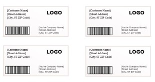 mailing labels template