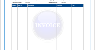 Free Invoice Template Microsoft Word Templates - Free microsoft word invoice template