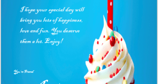 Birthday Wishes Sample  Birthday Wishes Templates Word
