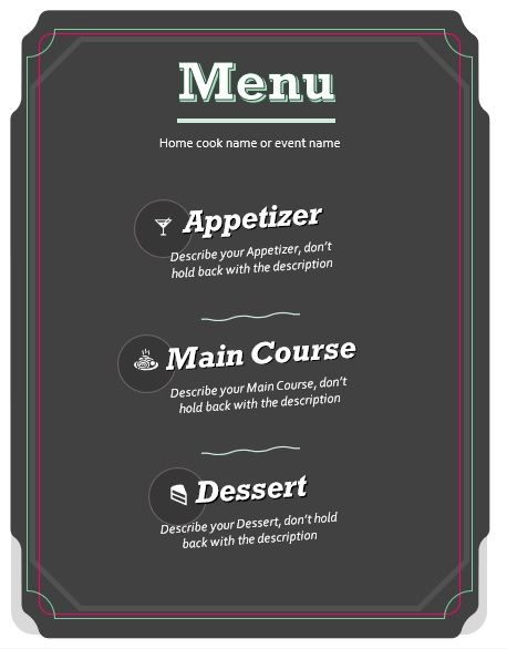 Event-Restaurant-Menu-Template