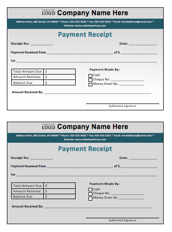 payment receipt template microsoft word templates. Black Bedroom Furniture Sets. Home Design Ideas