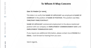 Work Experience Certificate Template 03