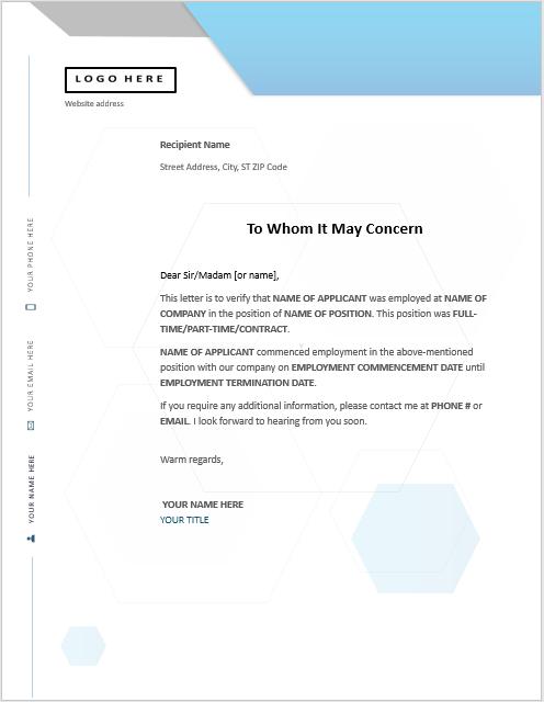 Work Experience Certificate Template 03