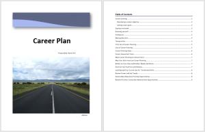 Career Plan Template 1