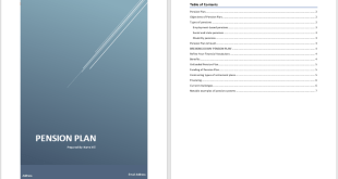 Pension Plan Template 1