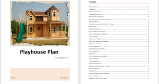 Playhouse Plan Template 1