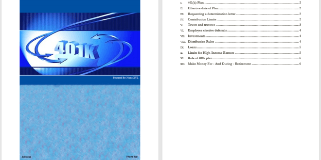 401k plan template  u2013 microsoft word templates