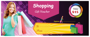 Shopping Gift Voucher 1
