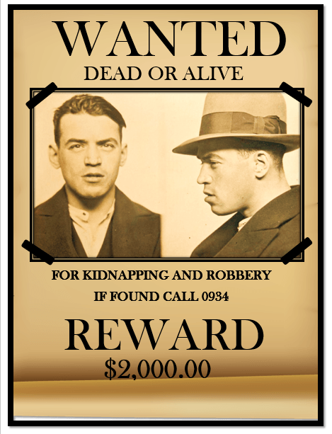 Classic Wanted Poster Template 10