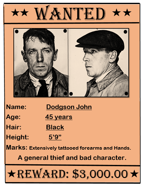 Wanted Poster Template 11