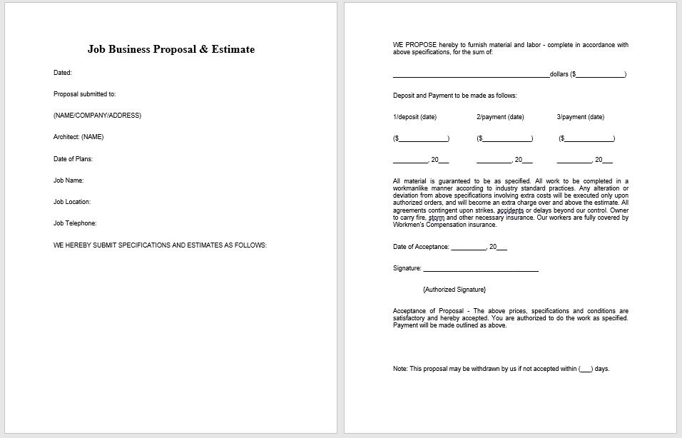 Business Proposal Template 05