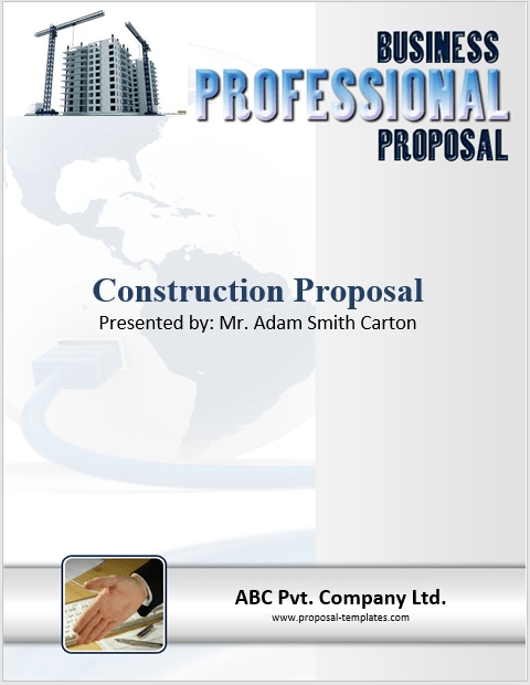 construction proposal template 03