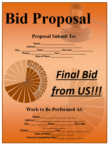 construction proposal template 13
