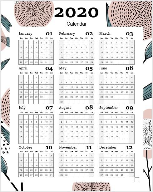 Calendar-Template-2020-06