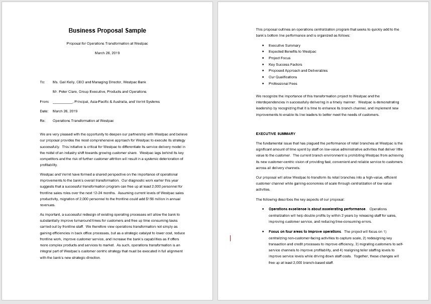 Business Proposal Template 09
