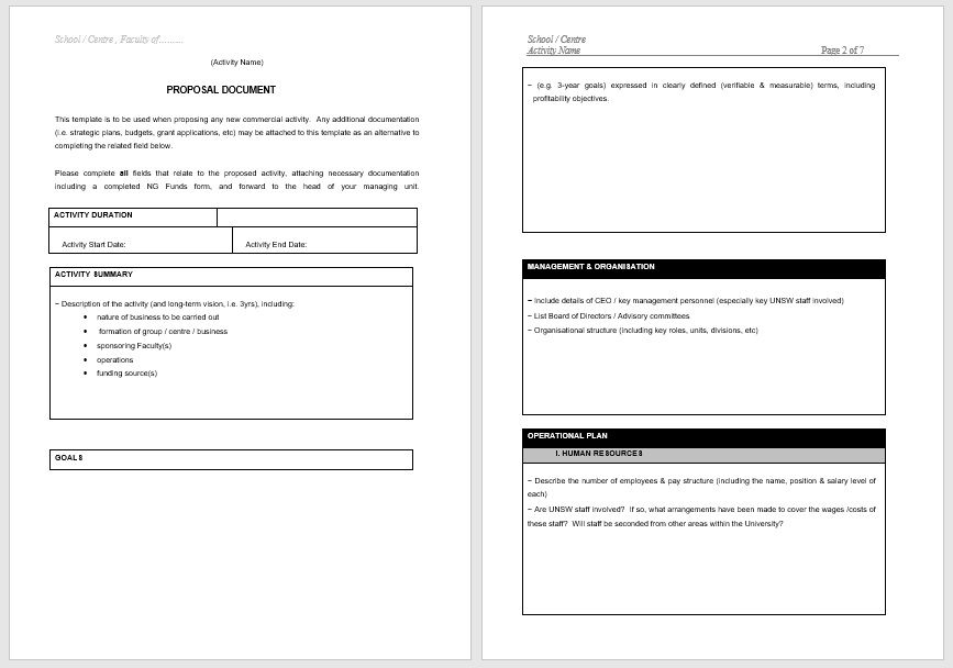 Business Proposal Template 12