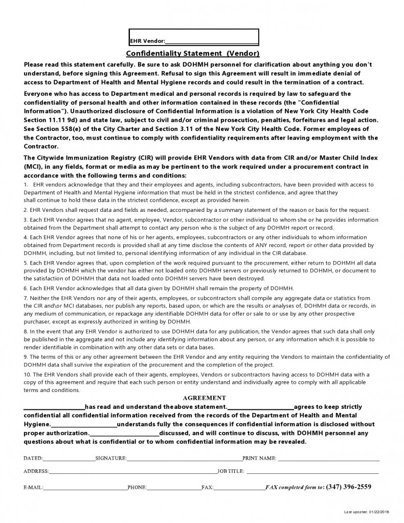 confidentiality statement template 04